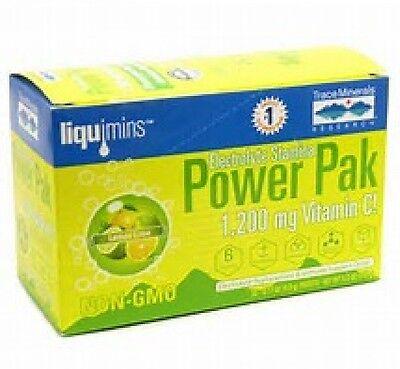 Trace Mineral Research Electrolyte Stamina Power Pak Lemon Lime 30 Packets Pak 30 Paks