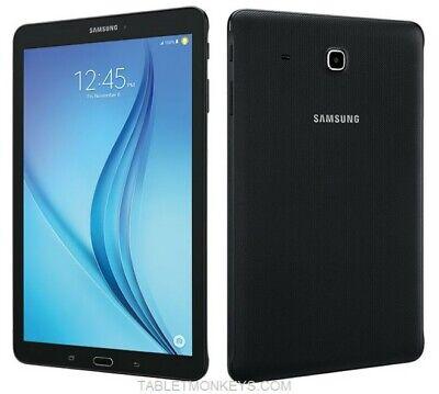 "Samsung Galaxy Tab E 8"" SM-T377W 16GB Black  WIFI +Global GSM Unlocked New inbox"