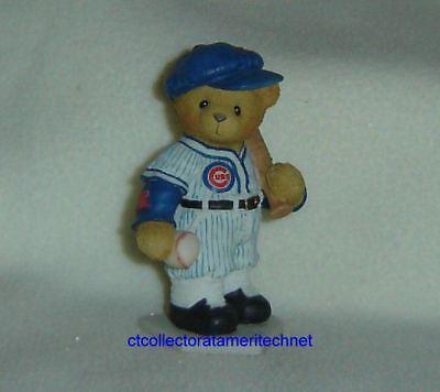 Cherished Teddies Chicago Cubs Ernie Banks 2000 NIB