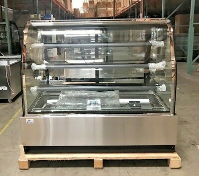 New 60 Bakery Deli Refrigerator Model Cl-5f Cooler Case Display Fridge Nsf