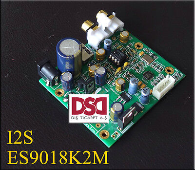 ES9018K2M ES9018 I2S Input DAC Decoder Board Support IIS-32bit 384K / DSD64, used for sale  China