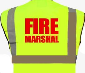 Fire marshal-1/2 Day Course £55