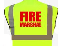 Fire marshal-1/2 Day Training Course £55