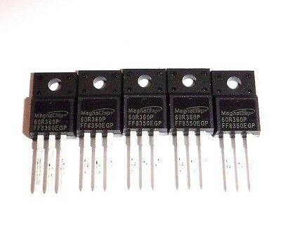 60r360p Mmf60r360p 5x 600v 0.36 N-channel Mosfet To-220