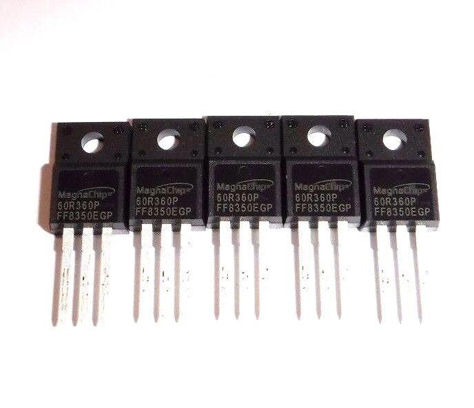 5pcs FDPF12N60NZ 12N60NZ 12A 600V  MOSFET TO-220F