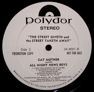Cat Mother and the All Night Newsboys,The Street Giveth Vinyl LP Peterborough Peterborough Area image 4