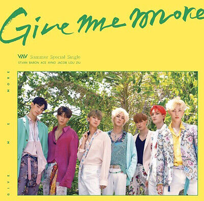 VAV [GIVE ME MORE] Summer Special Single Album CD+Photo Book+2 Card K-POP SEALED