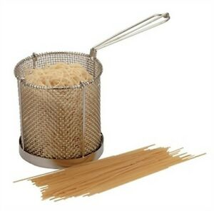 Stainless Steel Spaghetti Pasta Cooking Basket & Drainer