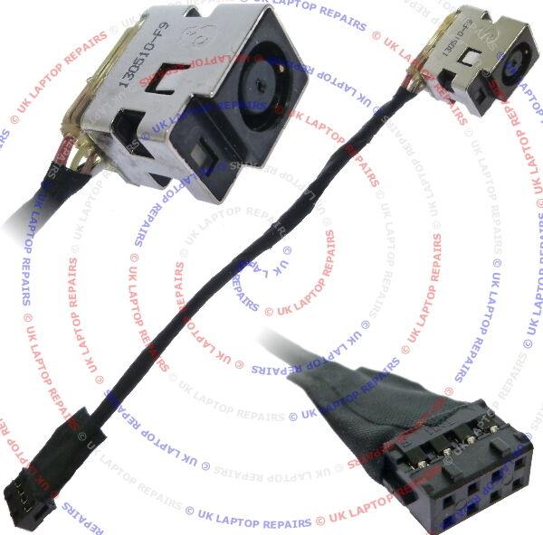 HP Pavilion G6-2025tu DC Power Jack Port Socket w/ Cable Connector