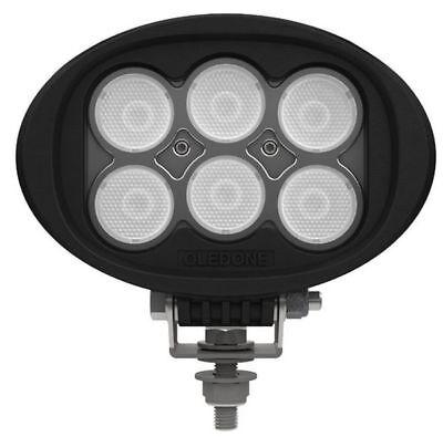 Oledone WD-6L60 60W Cree LED Proyector de Trabajo Ovalado 9-50V Flood 60°