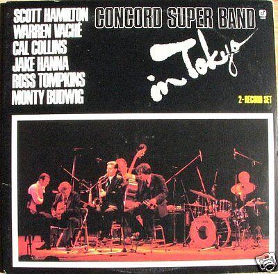 Concord Super Band - In Tokyo 1979 US 1979 2 x LP Vinyl