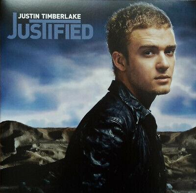Justin Timberlake Justified Sealed Vinyl LP Includes Cry Me A River & Senorita