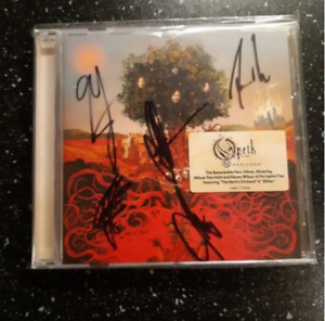 Opeth Heritage CD Autographed
