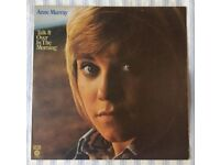 """Anne Murray 'Talk It Over In The Morning' 12"""" VINYL LP, £5 ONO"""