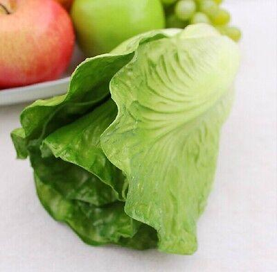 artificial vegetable faux lettuce fake fruit house ...