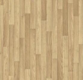 New vinyl flooring