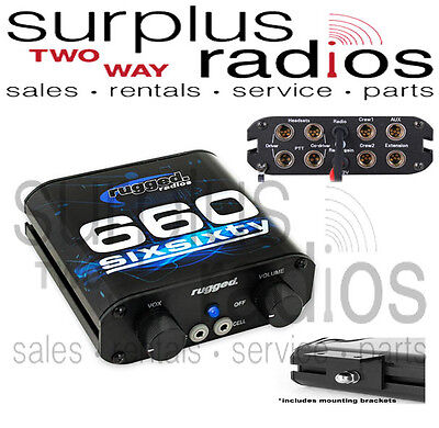 New Rugged RRP660 Expandable 2-4 Place Intercom. Buy it now for 374.95