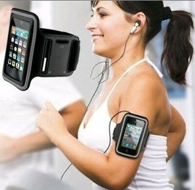 New Sports Arm Band Case Carrier Black Pouch For Samsung /Apple iphone HUAWEI