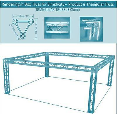 20x20 Triangular Truss Trade Show Booth