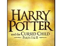 3x Tickets for Harry Potter and the cursed child - both parts (1st & 2nd June)
