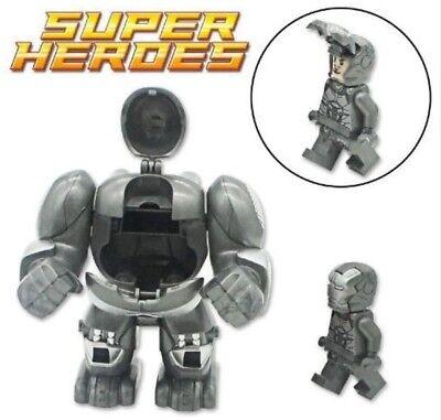 Hulkbuster Iron Man Hulk Lego Compatible 2 Minifigure Avengers War - Hulkbuster Avengers 2