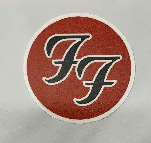 "Foo Fighters Sticker For Skateboard Car Laptop Audio Slave Decal 3"""