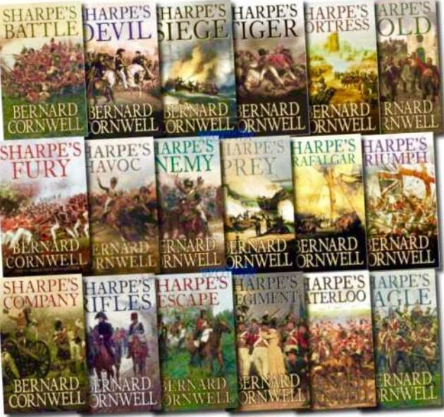 Sharpe Audio Books Bernard Cornwell 25 Stories 2 x MP 3 DVD + 2 FREE  EXTRAS!!