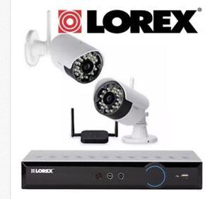 Lorex Security Cameras/ dvr