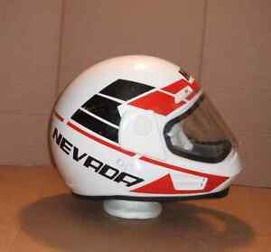 Casque Moto Motocyclette Motorcycle Helmet Extra Large Vintage