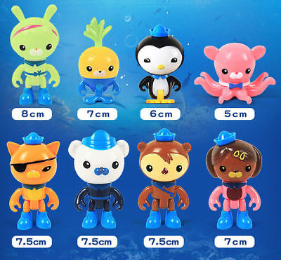 Octonauts Toys Action Figures Playset 8 Pack Kids Best Birthday Gift with