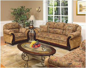 3 pcs Canadin Made Sofa Set (Sofa,Love seat+ chair) $1499.......