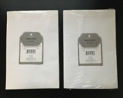 "Great Papers, White Envelopes, 2 x 25 Count ( 50 pcs total ), 9""X6"""