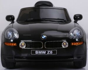 Licensed 12V BMW Z8 Deluxe Child Ride-On Car Doors, Leather seat