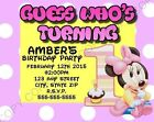 Disney Minnie Mouse Invitations
