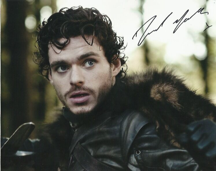 Richard Madden Game of Thrones Autographed Signed 8x10 Photo COA F