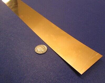 510 Phosphor Bronze Bar .010 -.002thick X 2 Wide X 48.0 Length