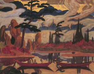 """Limited Edition """"Mist Fantasy"""" by J.E.H. MacDonald London Ontario image 1"""