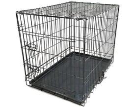 Medium Dog crate- single door.