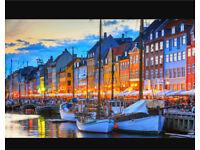 London to Copenhagen - £200!