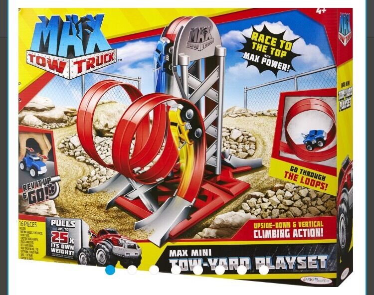 Max Tow Truck Mini Tow Yard Playset New In Rochdale Manchester