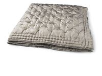 Laura Ashley king size bedspread pewter trustcott new with tags RRP £200