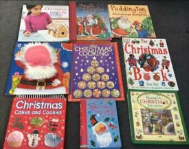 Kid's Christmas books - stories, cooking and activity books