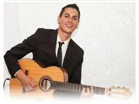 Professional solo guitarist for weddings, gigs in restaurants, private parties and hotels