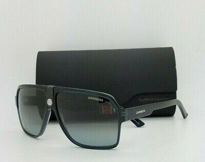 NEW Carrera sunglasses Men's 33/S RS69O Black Dark Grey Gradient AUTHENTIC men's