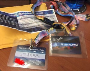 2 x BLUESFEST 4 DAY KICKOFF PASSES July 6-9th