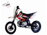 Cw pro 110 pitbike/minibike/mx/stomp/demon x/Welsh pitbike/lmx/rfz