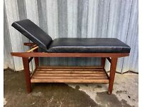 Teak Massage Bed