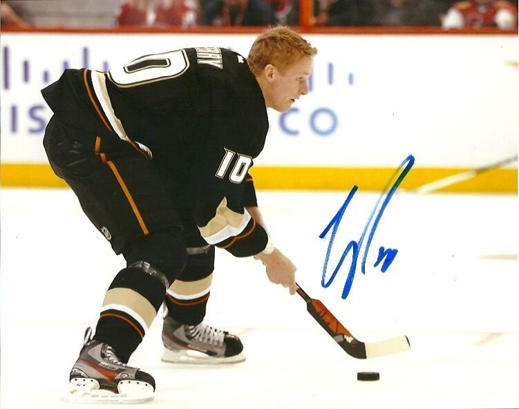 Anaheim Ducks Corey Perry Signed Autographed 8x10 Photo COA
