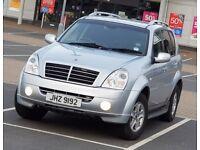 *NEW SHAPE* Rexton II 2.7 SX AWD same as Mercedes ML 270 4x4 nissan navara land rover BMW X5 Shogun