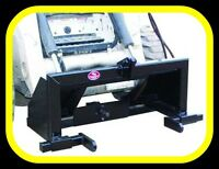Skid Steer to 3 point hitch adapter with PTO